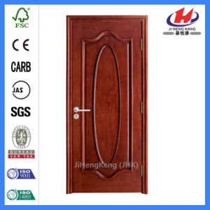 Interior Solid Wooden HDF Molded Veneer Door (JHK-000) pictures & photos