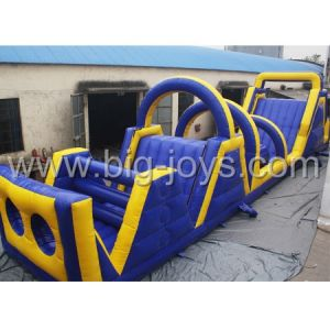Latest U Shape Adult Inflatable Obstacle Course 2015 (BJ-O31) pictures & photos