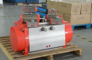 Pneumatic Actuator 3 Way Ball Valve pictures & photos