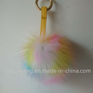 Cute Fake Fur POM Ball for Phone pictures & photos