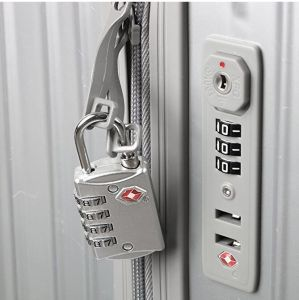Tsa Approved Combination Luggage Lock – 4 Dial pictures & photos
