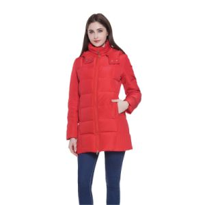 Warm Heating Down Padding Winter Girls Winter Jackets Women Cotton pictures & photos