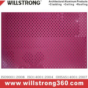 Shaped Aluminum Sheet for Wall Cladding pictures & photos