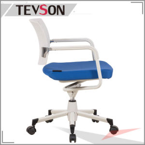 Simple Style Plastic Low Back Office Staff Chair pictures & photos