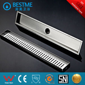 Bar-Type 304 Stainless Steel Floor Drain for Project (BF-K45) pictures & photos