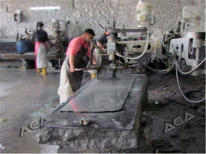Hand Stone/Glass Grinding Machine Granite/Marble Processing Machine pictures & photos