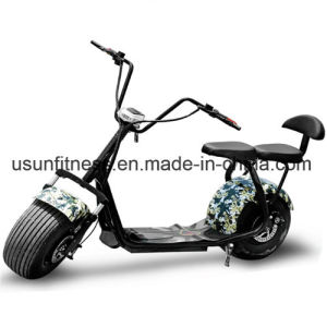 Harley Style Cheap Electric Motorbike 60V Battery Pedal Scooter with Bluetooth pictures & photos