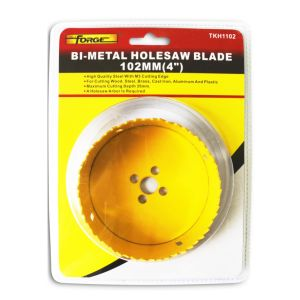 102mm Diameter M3 High Speed Steel (HSS) Blade Bi-Metal Hole Saw pictures & photos
