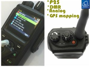 VHF Two-Way Radio in VHF Band with GPS Digital Function in Digital & Analog Mode pictures & photos
