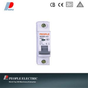 Miniature Circuit Breaker MCB with High Breaking Capacity Rdb5-63