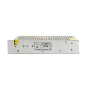 Smun S-100-5 High Quality 100W 5VDC 20A LED Power Supply pictures & photos