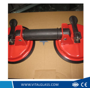 2 Claws Glass Suction Plate / Black Sand Single Suction Plate pictures & photos