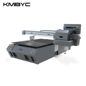 Kmbyc A1 Plus Size 2 Heads 12 Colors Flatbed UV Printer pictures & photos
