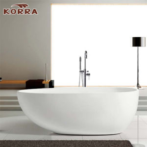Simple Freestanding Acrylic Bathroom Bathtub with Cupc Certificate pictures & photos