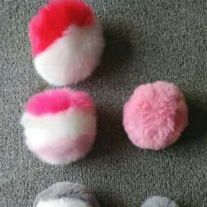 Weddings Decoration Fake Fur Ball Fluffy POM Poms pictures & photos
