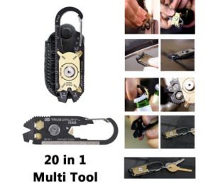 New Mini EDC 20 in 1 Multifunction Key Tool pictures & photos
