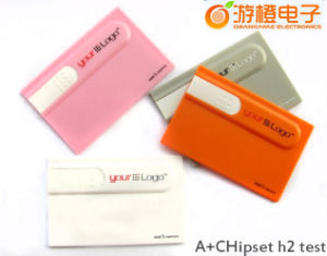 Newly Card Style USB Flash Drive (OM-P518) pictures & photos
