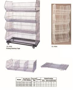Folding Stacking Cage pictures & photos