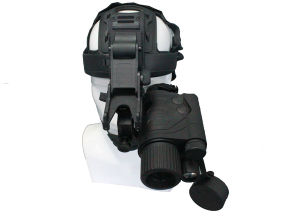 Paintball Airsoft Gun Night Vision Monocular with Head Mount (N1112B) pictures & photos