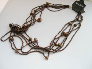 Easy Match Necklace In Four Colors Available (BGNC091026-1/2/3/4)
