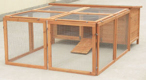 Wooden Pet Cage (5663-0537)