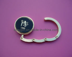 Customized Brand Metal Stapming Logo Bag Hook pictures & photos