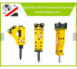 Hydraulic Breaker Hammer with Various Chisel From Handan Zhongye of China pictures & photos