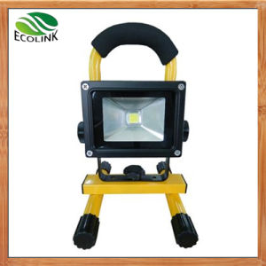 10W Portable Rechargeable Waterproof Outdoor LED Flood Lights pictures & photos