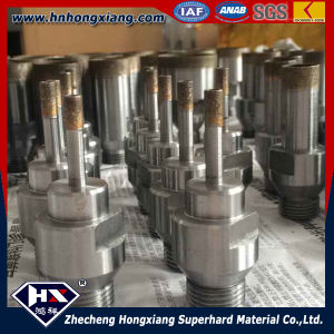 High Drilling Speed Diamond Thread Drill Bits for Glass Drilling pictures & photos