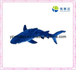 Blue Plush Toy Shark Toy (XMD-F001) pictures & photos