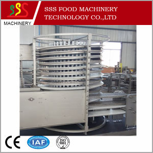 High Quality and Efficency IQF Spiral Freezer- Food Freezing Machine