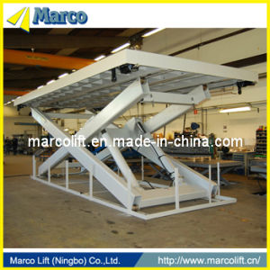 6 Ton Marco Single Scissor Lift Table with CE Approved pictures & photos
