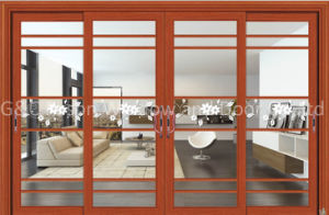 Automatic Bright Glass Sliding Doors pictures & photos