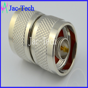 Double Plug Coaxial Cable N Connector