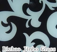 Art Glass / Painted Glass, Silk Screen Printing Tempered Glass (JINBO) pictures & photos