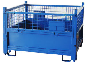 CE Certified Foldable Wire Mesh Metal Container (IMC995) pictures & photos