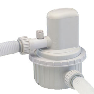 Above-Ground Type Filter Pump with Plastic-Screwed Hose Clamp