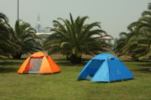 Top Quality 4 Persons Outdoor Camping Tent pictures & photos