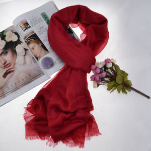 Cashmere Scarf (12-BR320101-1.3) pictures & photos