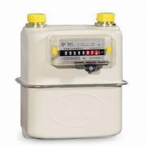 Cold-Rolled Steel Diaphragm Gas Meter for Household pictures & photos