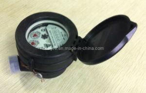 Single Jet Liquid Sealed Vane Wheel Plastic Water Meter (LXS-15FDpl) pictures & photos