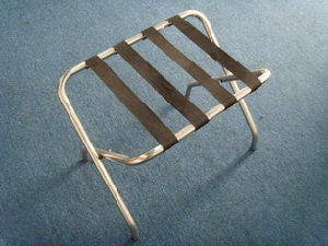Chrome Finish Luggage Racks