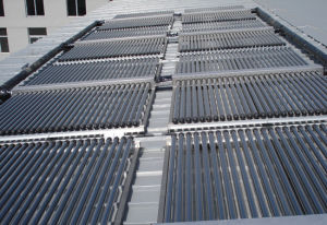 Solar Water Heater Project with Non-Pressure Collector pictures & photos