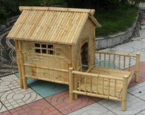 Bamboo Dog House (BDH-001)