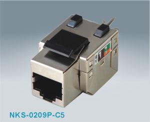 Cat5e FTP RJ45 Keystone Jack (NKS-0209P-C5e)