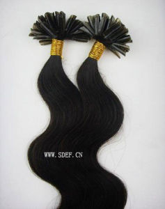 5A Grade Remy Virgin Human Hair Extension-Nail Hair (HE-NBW)