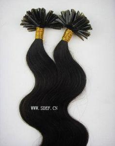 5A Grade Remy Virgin Human Hair Extension-Nail Hair (HE-NBW)