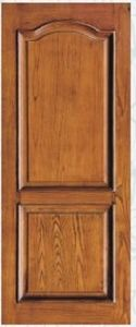 Classical Wooden Door with Simple Design (pH-6611) pictures & photos