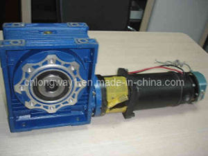 90mm 220V DC Worm Gear Motor for Lift Machine pictures & photos