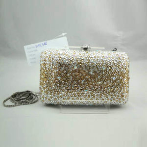 Crystal Evening Bag (WHC468-3goldabmulti)